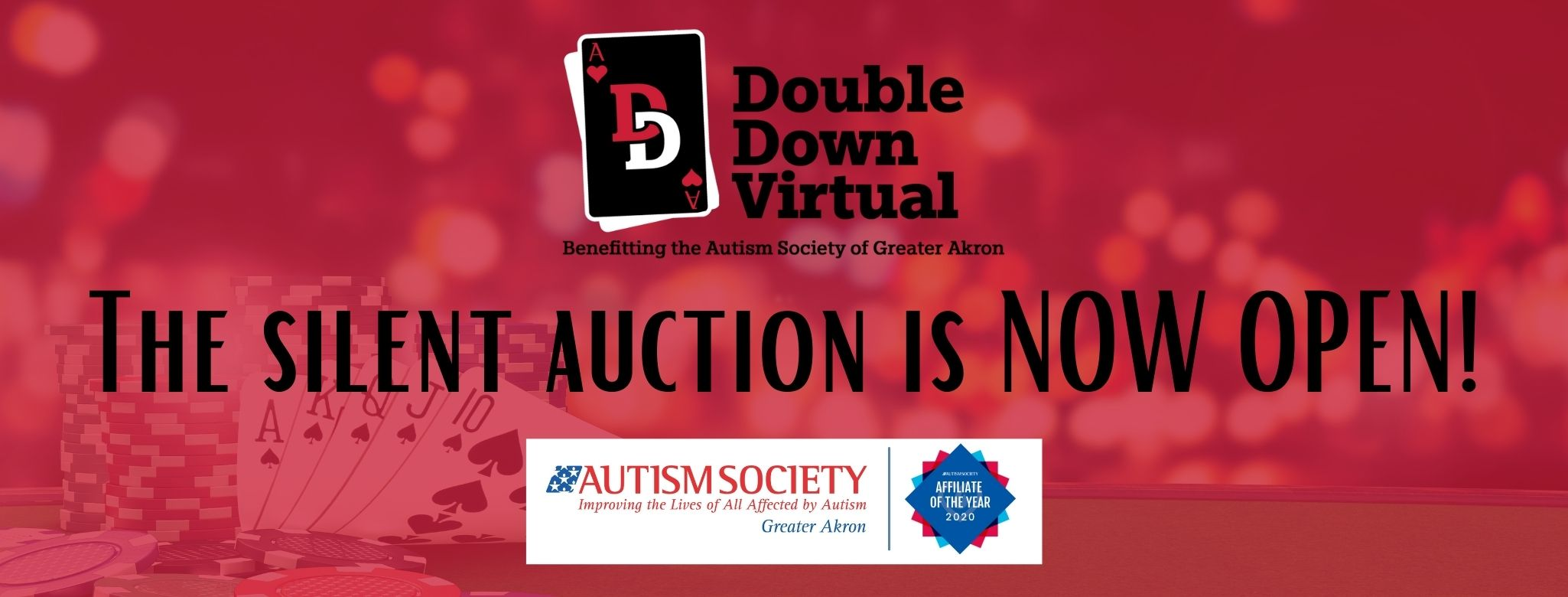 The silent Auction is NOW OPEN