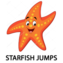 starfish jumps