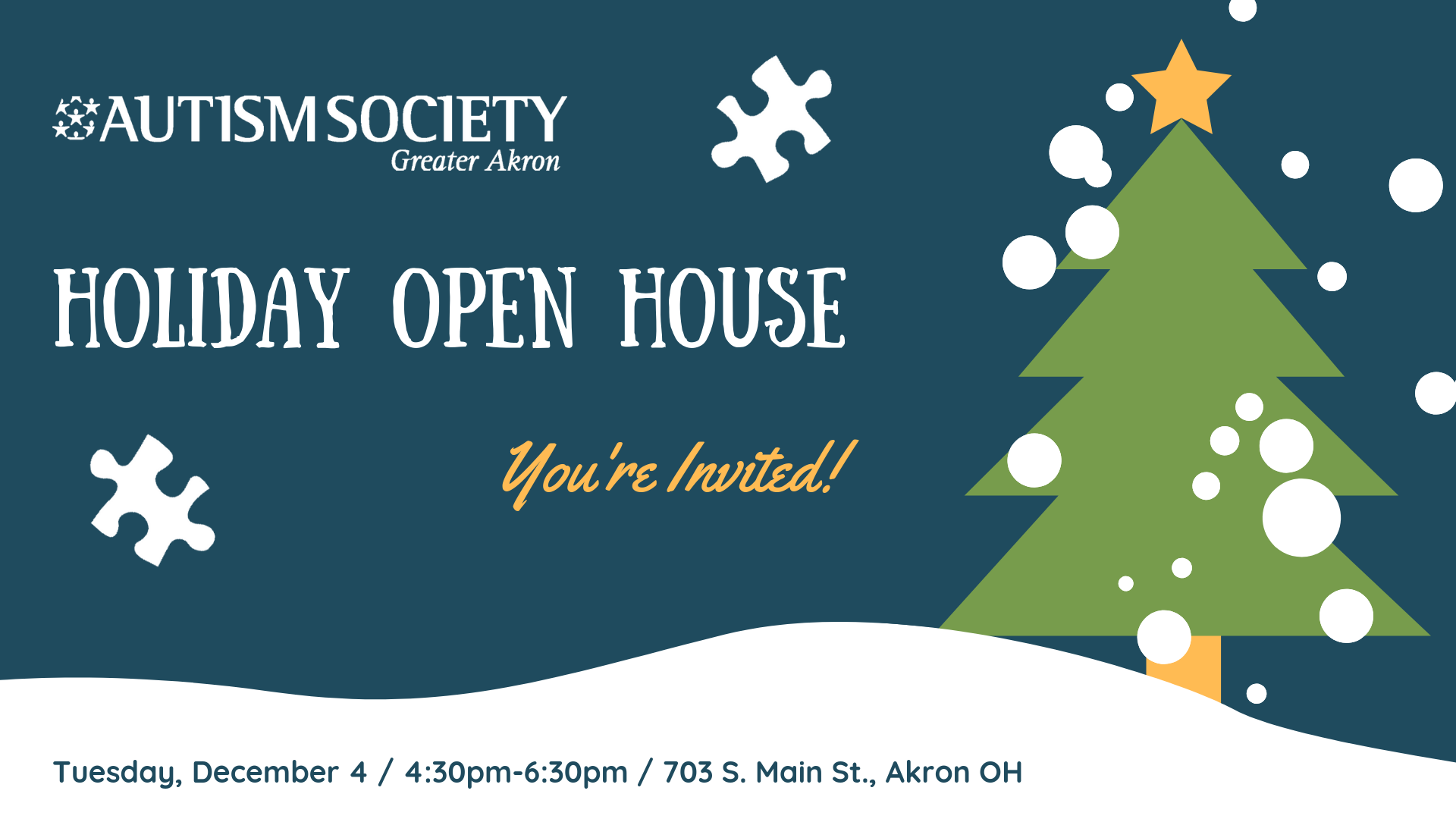 Holiday Open House Banner 2
