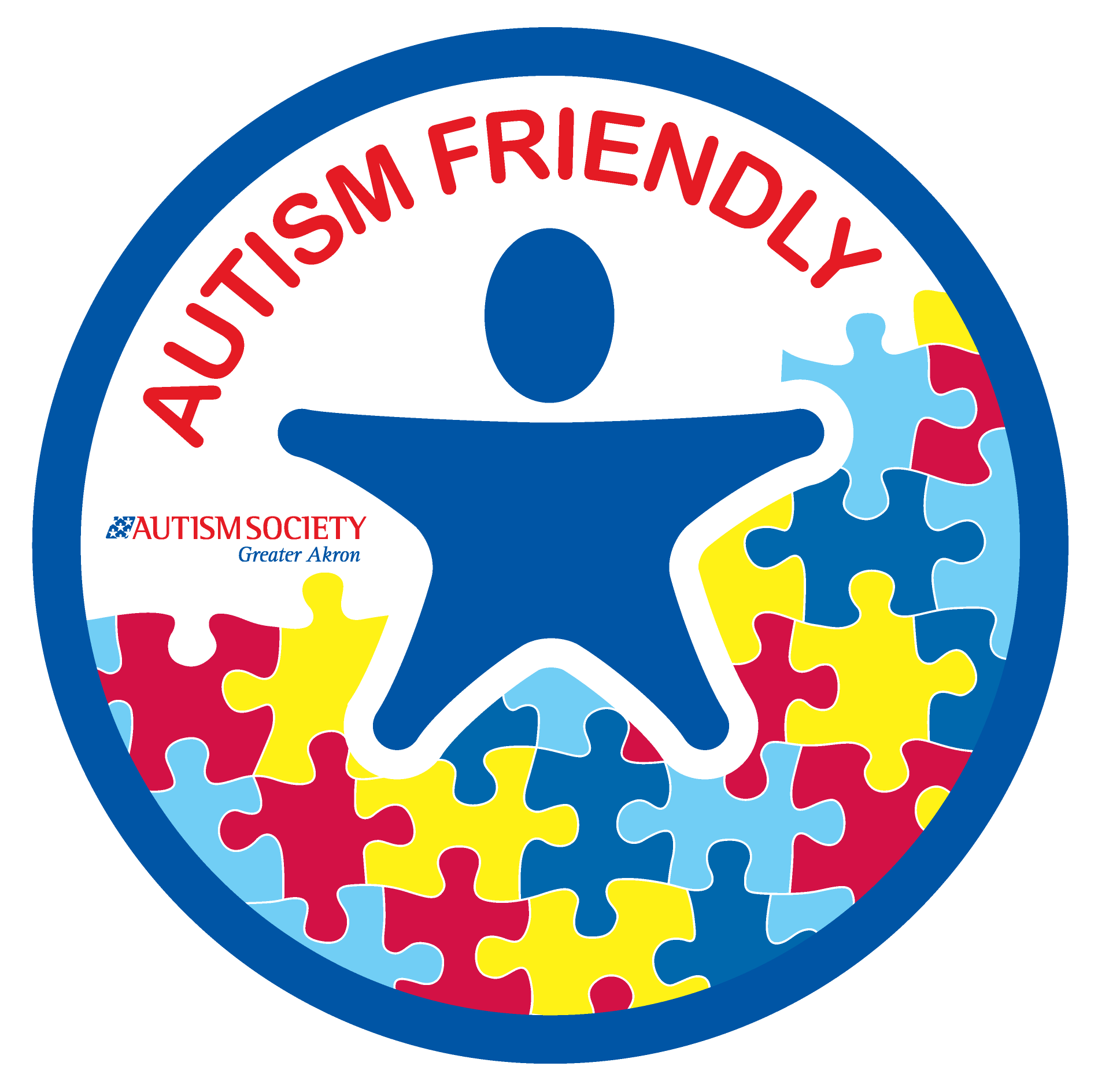 Autism Friendly graphic DECAL